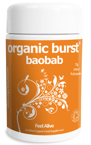 Baobab Powder by Organic Burst   Multi-Award Winning Superfood Supplements