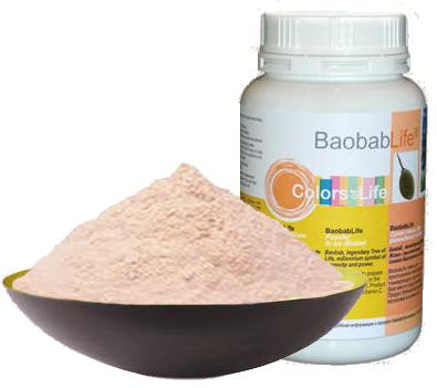 Банка и порошок Baobab Life