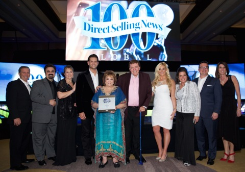 jeunesse-global-top-100-direct-selling-companies-award