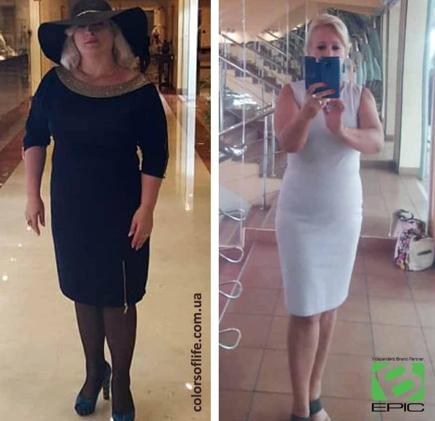 Elev8 и Acceler8 для похудения - фото-результат из Украины
